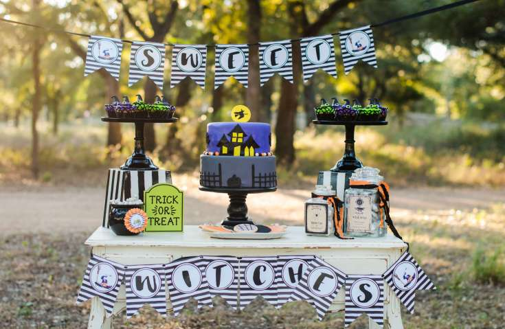 Little Witches Soiree by Mint Event Design - Fall Party Hop - Halfpint Design