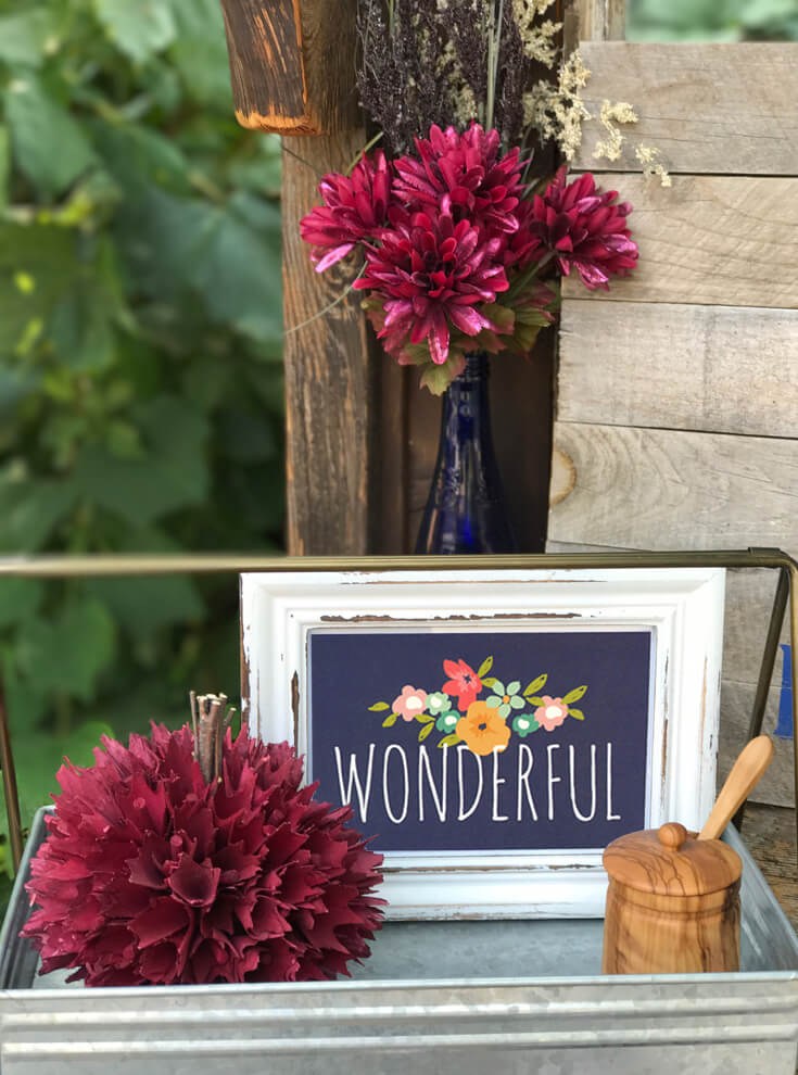 Isn't it wonderful? Getting together with friends and family is the best. I'm so grateful to have time with wonderful food and even better people. Farmer's Market Harvest Brunch | Halfpint Design - Fall entertaining, garden food, clean eating