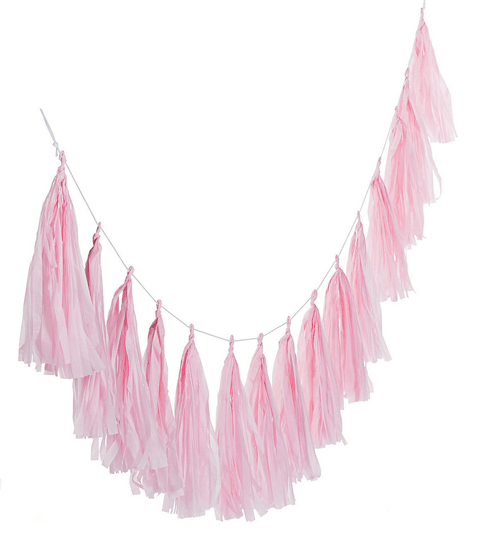 Looking for a great winter birthday idea? Or holiday party theme for your friends and family? A Nutcracker ballet party is the perfect theme and I've got a list of 26 amazing products that will up your party game! Simple tassel garlands in light pink work so well to echo a tutu. Pretty Pastel Nutcracker Ballet Party Ideas on Halfpint Design. Ballet party, Christmas party, Nutcracker party.