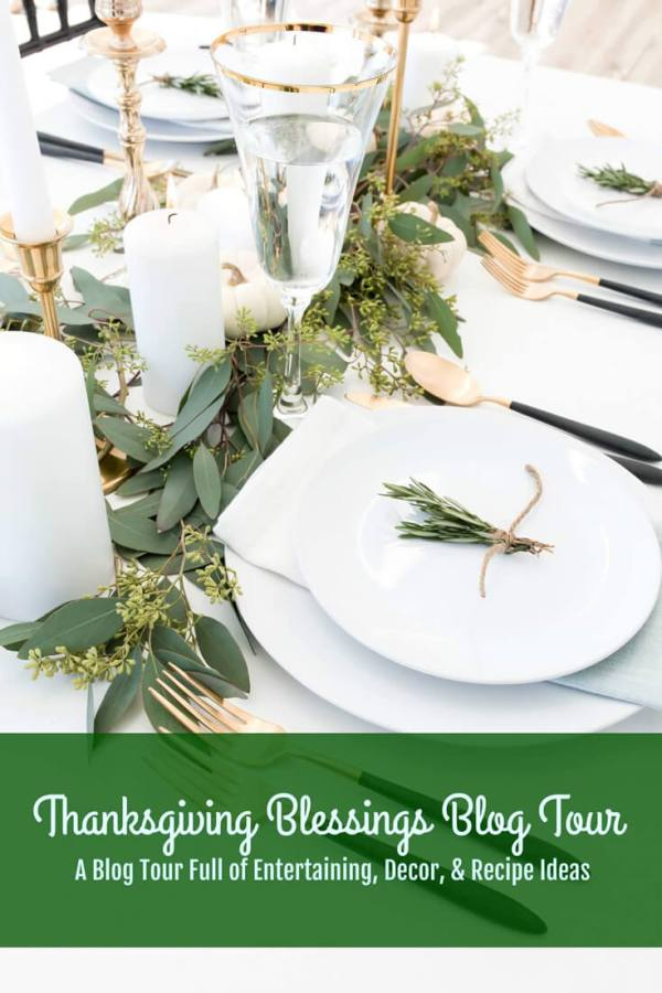 Thanksgiving Blessings Blog Tour #5 Bri at Halfpint Design - A blog tour full of Entertaining, decor, and recipe ideas.