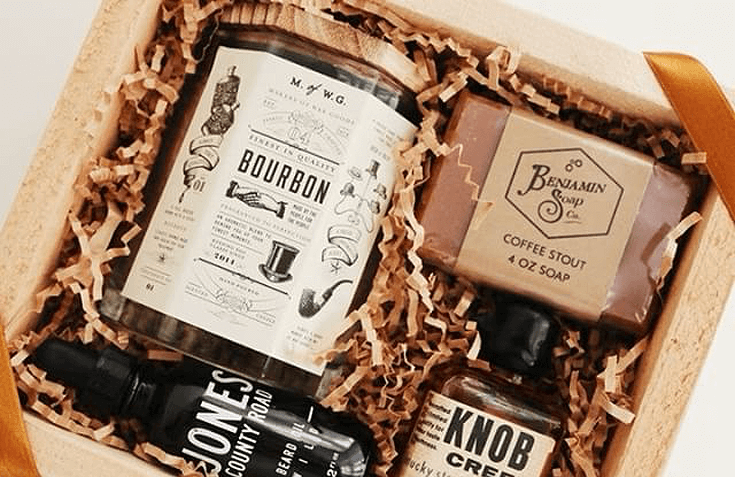 Have a difficult man in your life making gift buying a headache? Send a curated gift box selected with his hobbies in mind. For more great ideas check out the Ultimate Gift Guide for the Man who has Everything at Halfpint Design. Christmas gift ideas, men's birthday gift ideas.