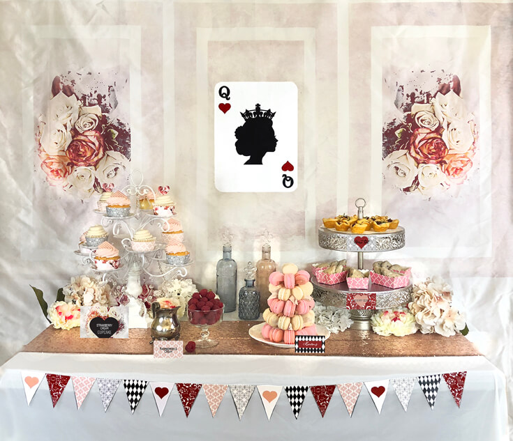 Queen Of Hearts Valentine S Party Plan Halfpint Party Design
