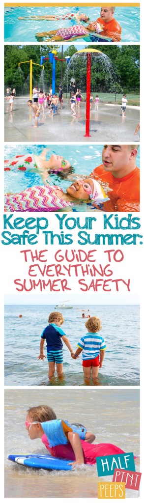Keep Your Kids Safe This Summer: The Guide to Everything Summer Safety - Summer Safety TIps, How to Keep Kids Safe, Keep Kids Safe at the Pool, Kids Safety, Tips and Tricks for Summer Safety, Summer Activities
