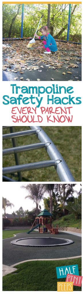Trampoline Safety, Trampoline Safety Hacks, Kids Safety Hacks, Safety Tips for Kids, How to Keep Your Kids Safe, Easy Ways to Keep Your Kids Safe on Trampolines, Popular Pin