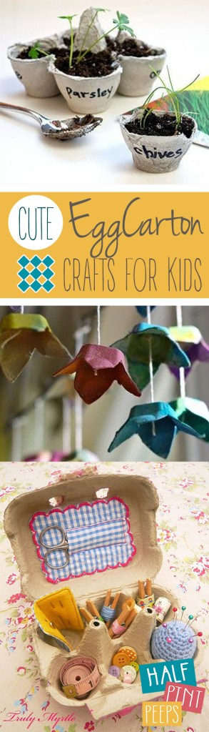 Egg Carton Crafts for Kids, Crafts for Kids, Craft Projects for Kids, How to Reuse Egg Cartons, Egg Carton DIYs, Egg Carton Upcycles, Popular Pin