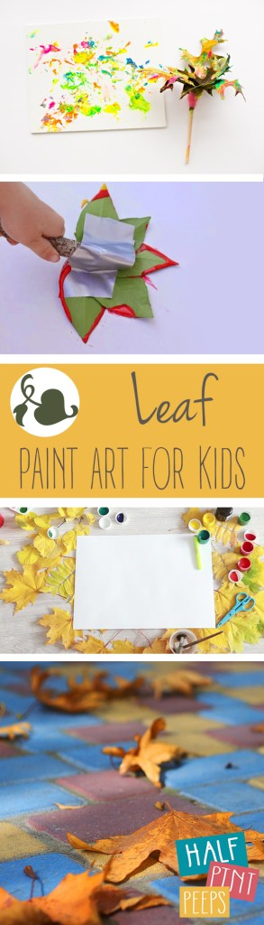 Leaf Paint Art For Kids| Leaf Art, Leaf Paint Art, Fall Art, Crafts for Kids, Activities for Kids, Craft Projects for Kids, Kid Stuff #CraftsforKids #KidStuff #DIYHome #KidsStuff