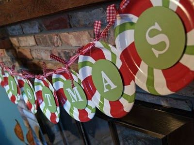 & 10 Paper Plate Christmas Crafts for Kids -