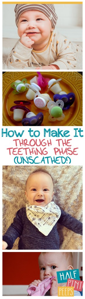 How to Make It Through the Teething Phase (Unscathed!)| New Mom, New Mom Tips and Tricks, Tips for Mom, Teething Tips for Mom, Parenting, Parenting Hacks, DIY Parenting Hacks #TeethingTips #Parenting