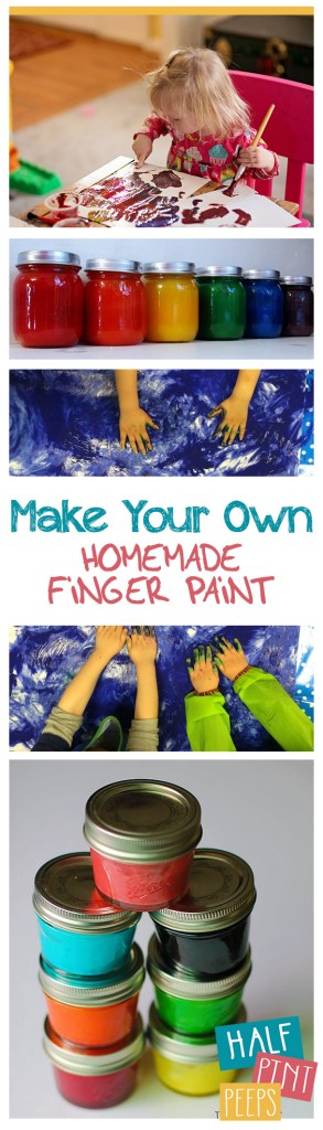 Make Your Own Homemade Finger Paint| Finger Paint, DIY Finger Paint, Kid Stuff, Crafts for Kids, Kid Stuff, Finger Paint Crafts, Finger Paint Crafts for Kids, Popular Pin #DIYFingerPaint #KidCrafts