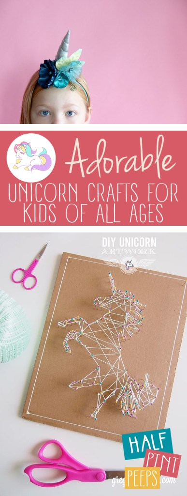 "Adorable ""Unicorn"" Crafts for Kids of All Ages