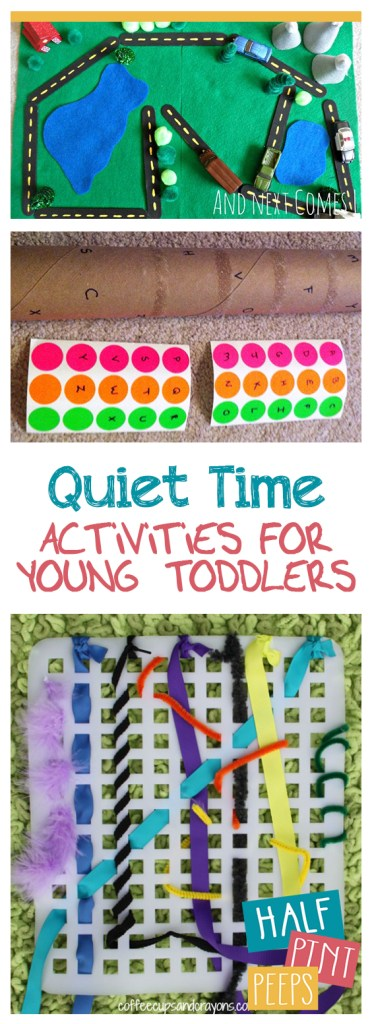 """Quiet Time"" Activities for Young Toddlers
