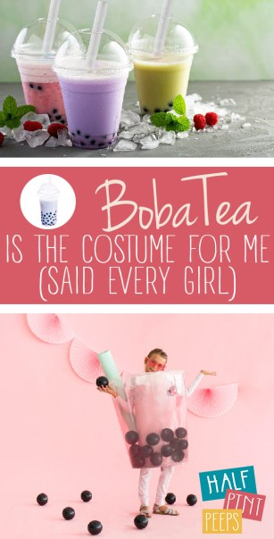 Boba Tea Costume | Boba Tea Costume Ideas | Boba Tea Costumes | Boba Tea | DIY Boba Tea Costume | DIY Boba Tea Costume Ideas