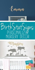Personalized Nursery | Personalized Nursery Decor | Personalized Nursery Decor Ideas | Nursery Decor Ideas | Nursery Decor | Nursery Decor Personalization