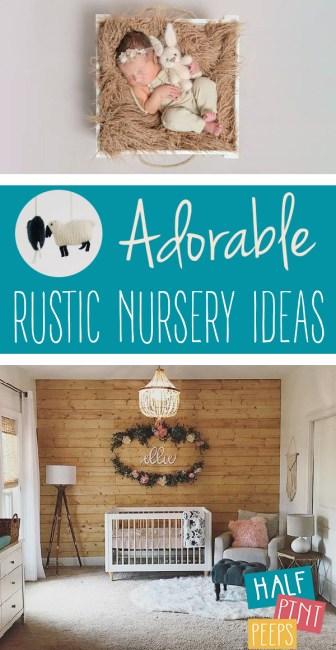 Rustic Nursery Ideas | Babies | Home Decor | Rustic Decor | Nursery Ideas | Nursery