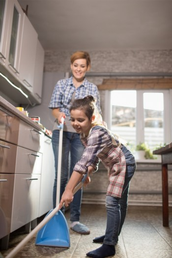 Having a family chore chart will help bring your family closer together and keep your house clean