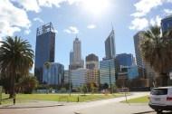 Daytime shot of Perth Skyline