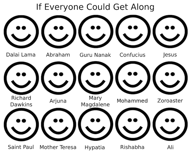 If Everyone Could Get Along
