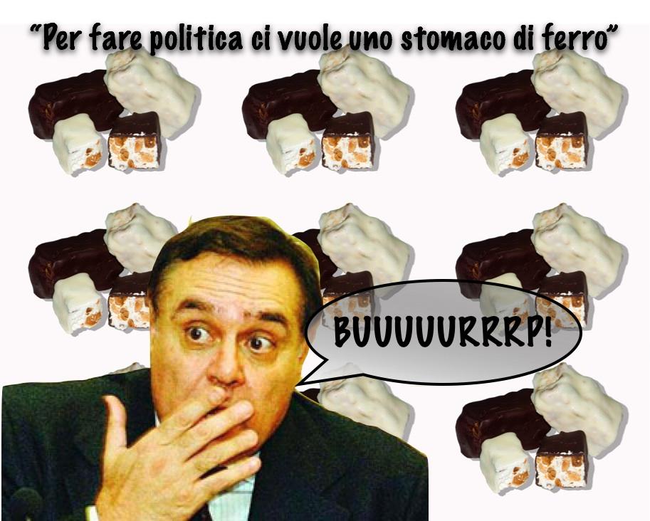 Per fare politica ci vuole uno stomaco di Ferro