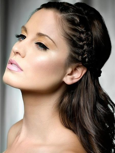 DIFFERENT HAIRSTYLES FOR LONG HAIR TRY ONE OF YOUR CHOICE  half up and half down prom hairstyle