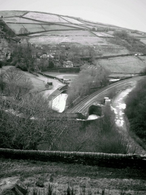 Above Tunnel End Marsden