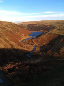 Looking down to Wessenden Brook, back towards Marsden