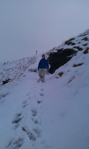 Descending the pennine Way at Wessenden