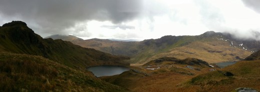 View from the Pyg track