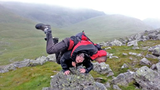 Striding Edge Tomfoolery and Japes
