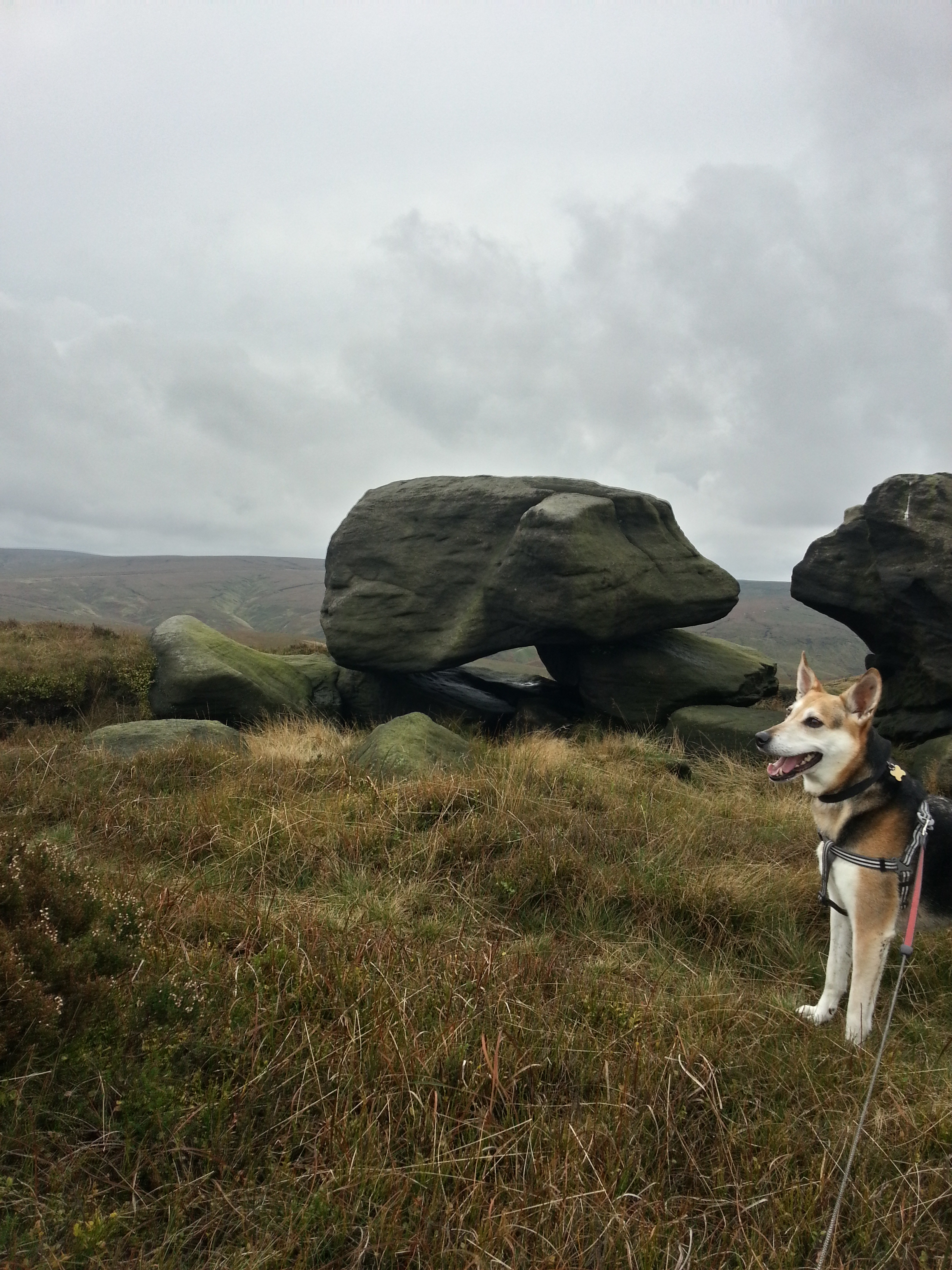West Nab rocks Meltham Hike