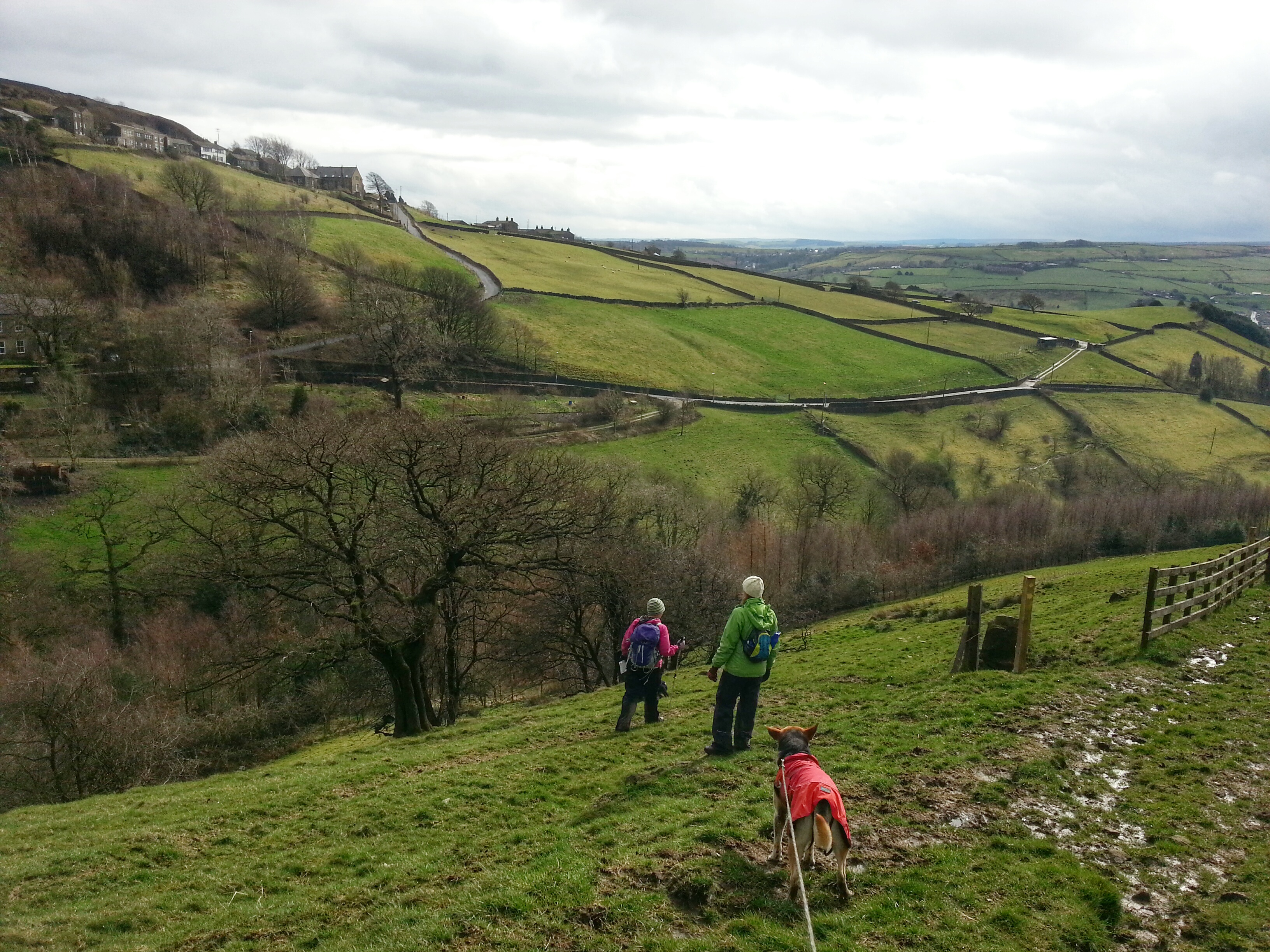 Colne Valley Circular Walk hike Crimble Clough