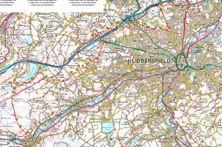 Kirklees Way Huddersfield Map Hike Viewranger