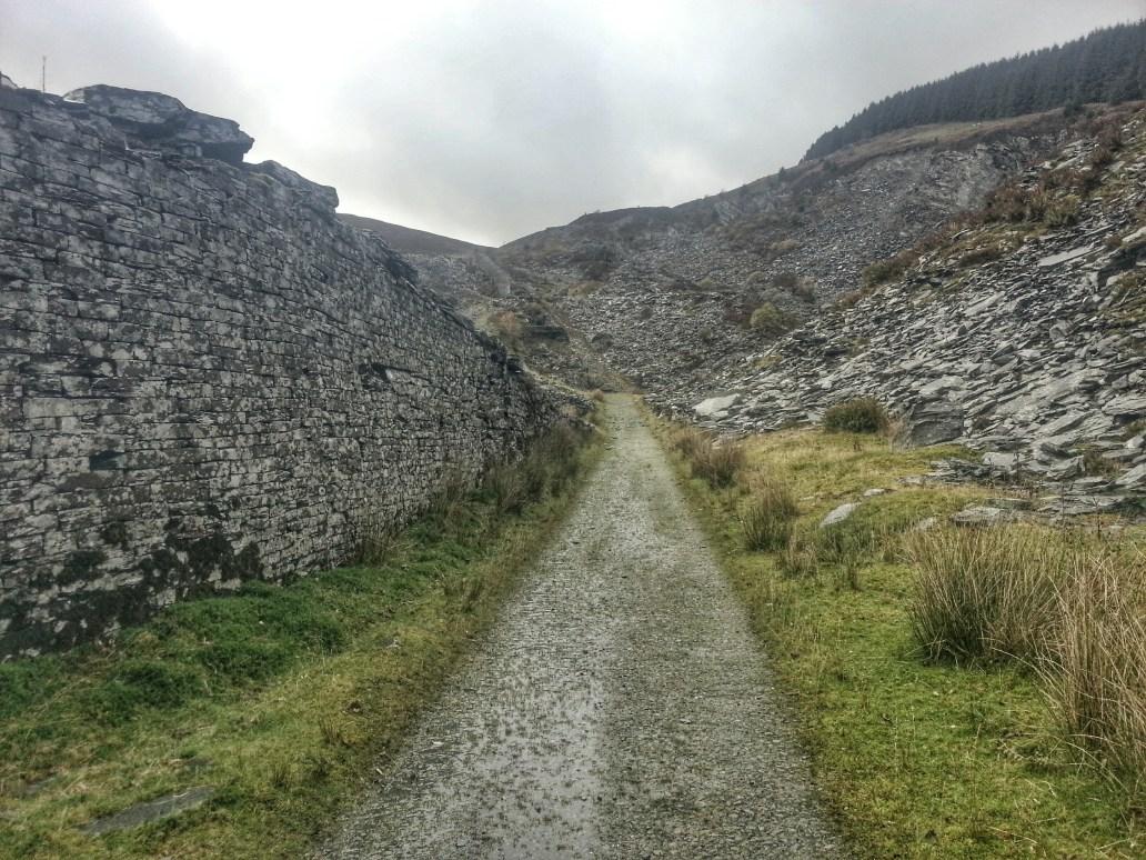 Rhiw Fachno Quarry Cwm Penmachno Hike