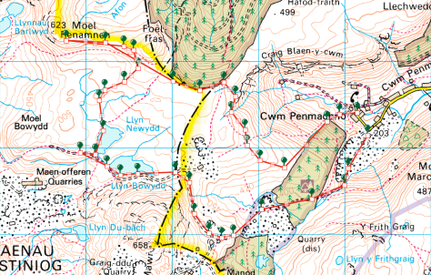 Cwm Penmachno Circular Hike