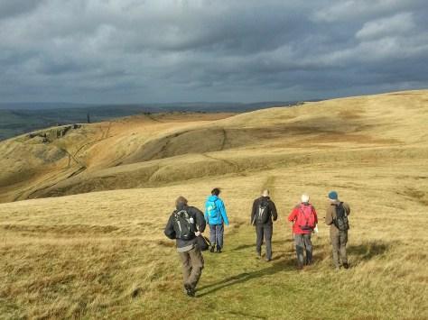 Saddleworth navigation skills hills hike