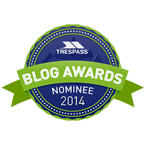 Trespass Blog Awards Hike Badge Nominee Hiker
