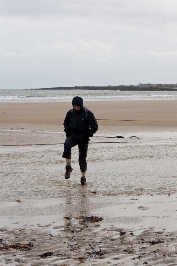 Northumberland Coastal path shoreline
