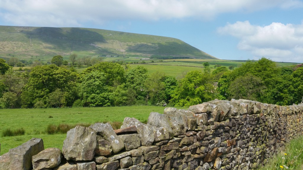 Pendle Hill view from Black Moss reservoirs