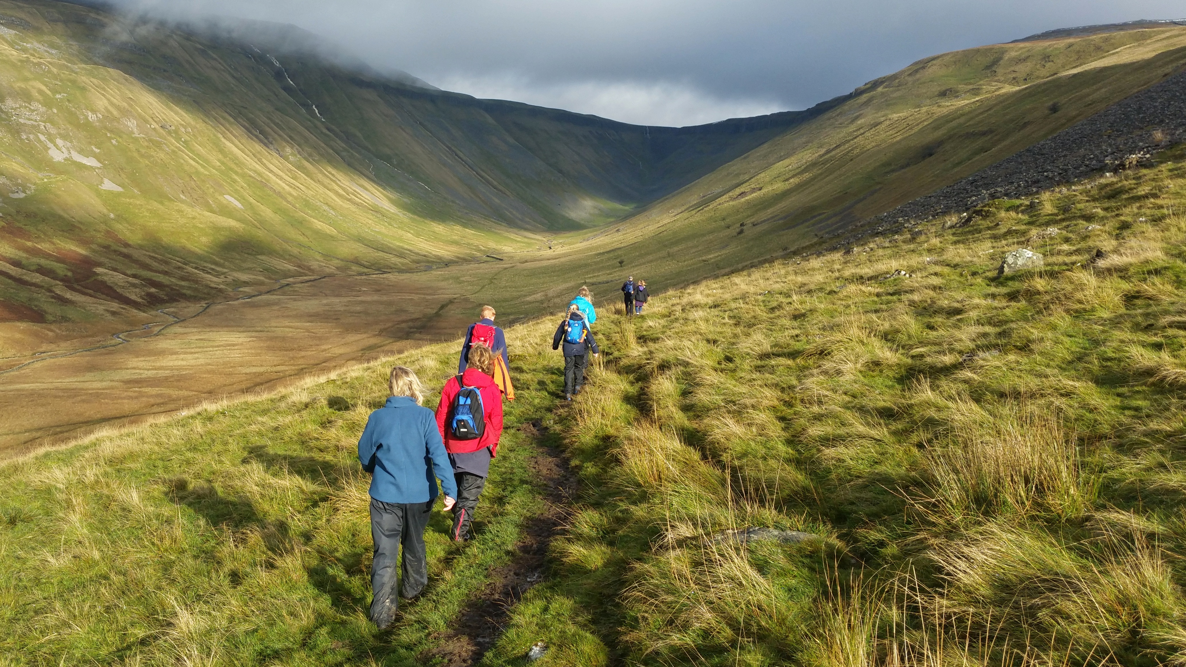 High Cup Gill Westmorland Hike