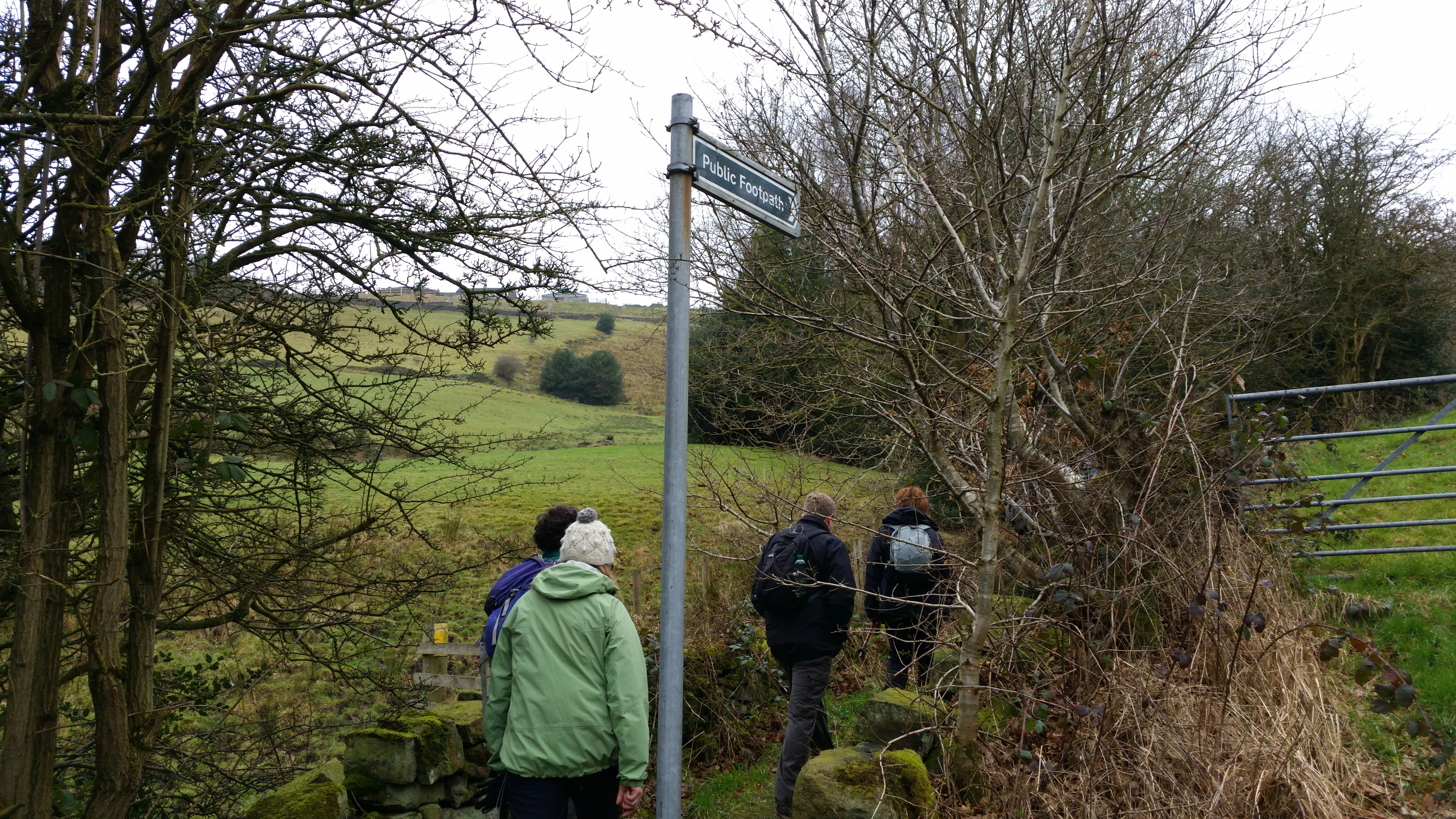 Marsden Walkers Are Welcome Netherwood Trail