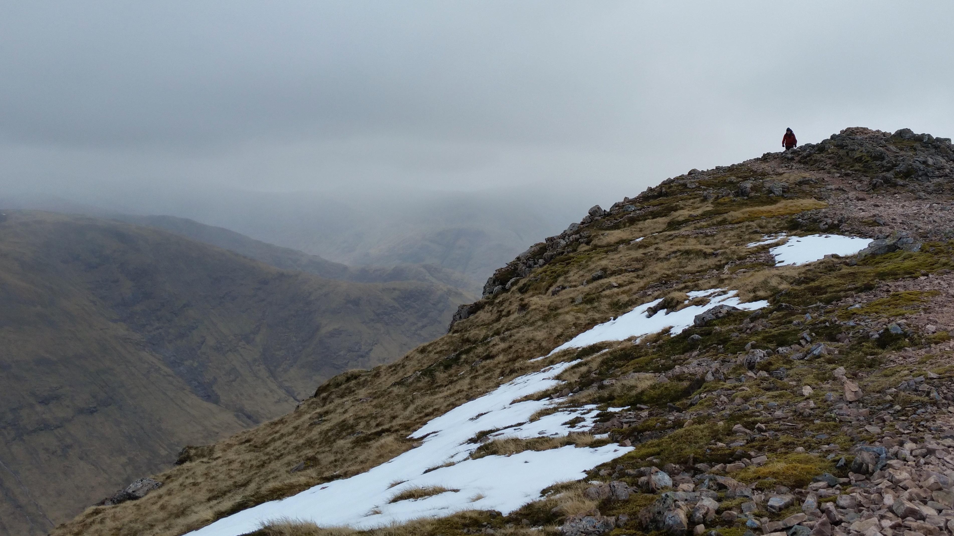 Buachaille Etive Mor hike scramble Scotland