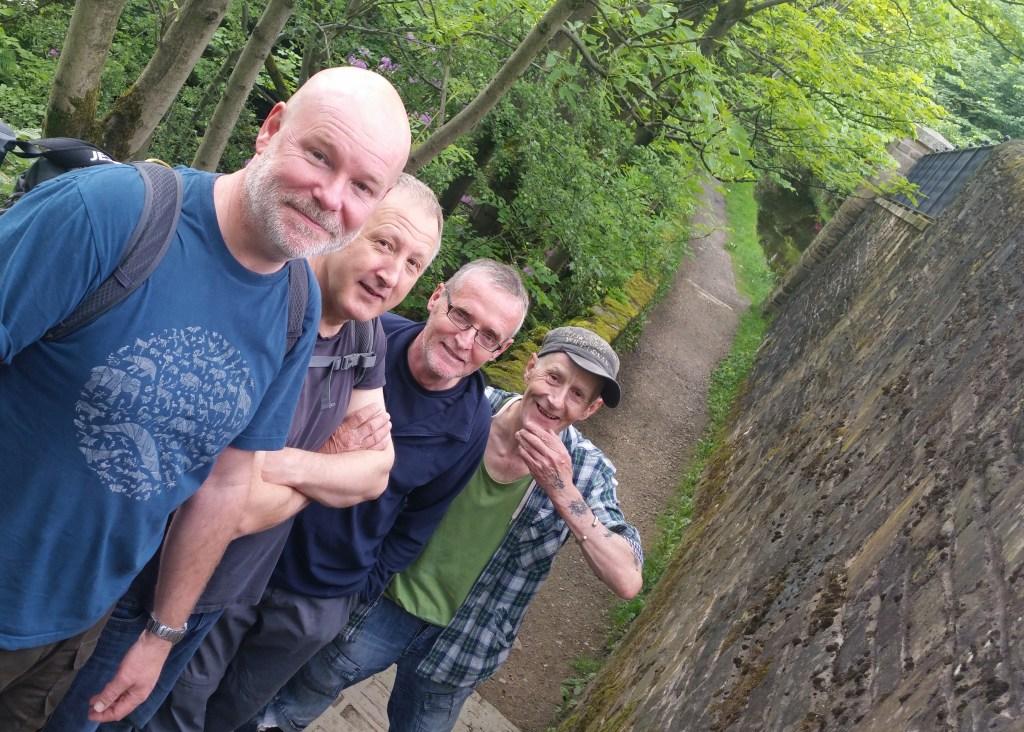 Greenfield Marsden Hike mates