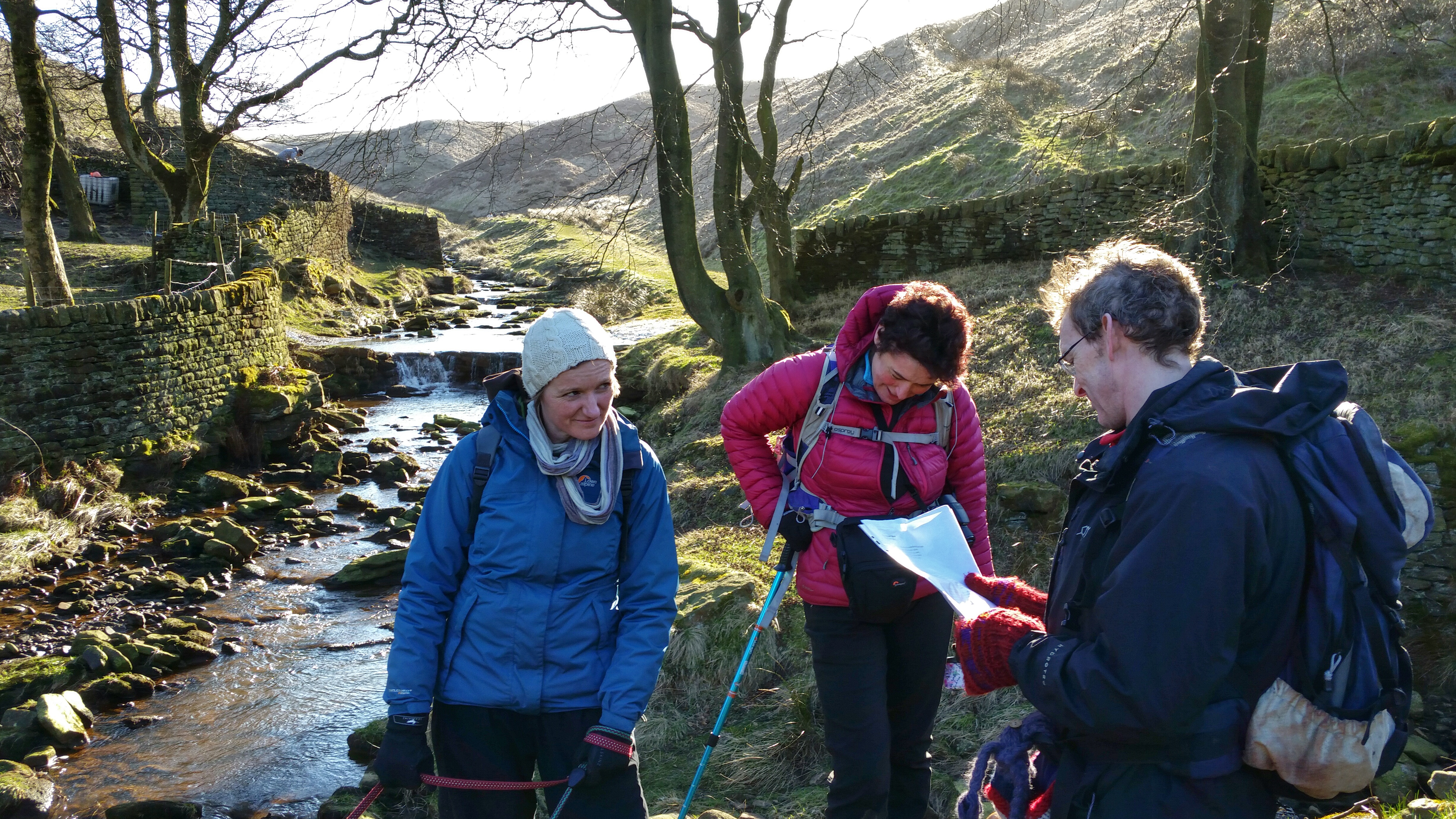 Marsden poetry Trail reading of a poem