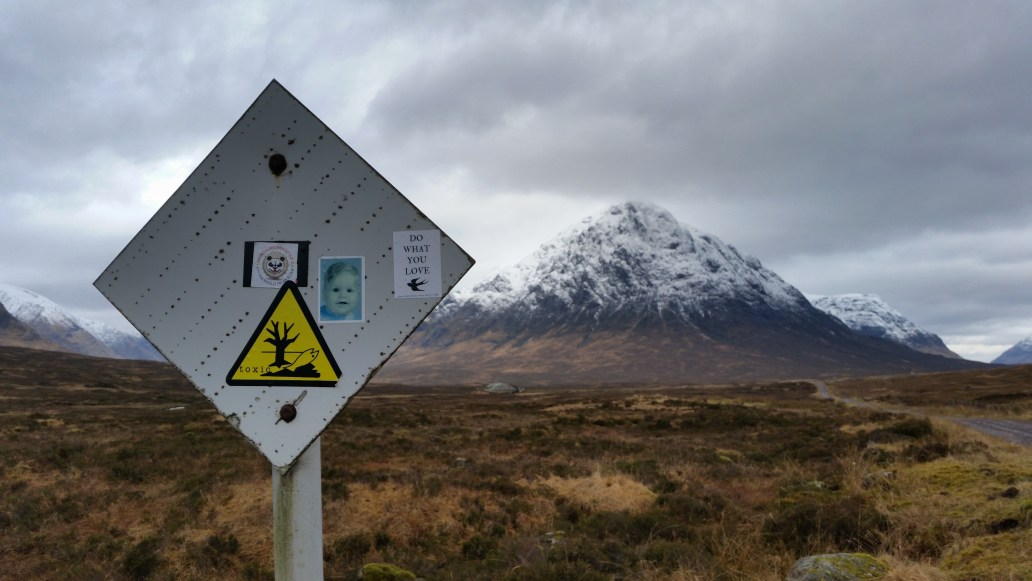 Glen Coe West Highland Way walk
