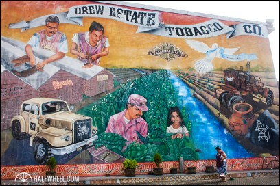 The famous mural is set to be taken down later this year.