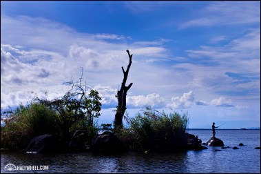 One of the many islands in Lake Nicaragua.