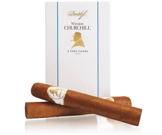 Davidoff Winston Churchill Four Packs