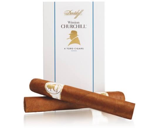 Davidoff Winston Churchill Four Packs