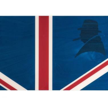 Davidoff Winston Churchill Union Jack Humidor 1