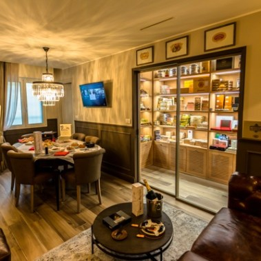Paris Alexander Habanos Lounge Interior-1 Italy Diadema SpA