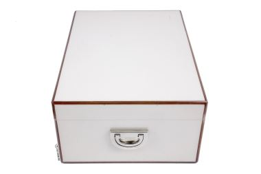 Diamond Crown St. James Peabody Humidor-closed side
